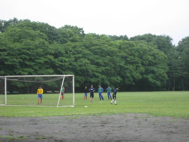 公園 ある ゴール サッカー が