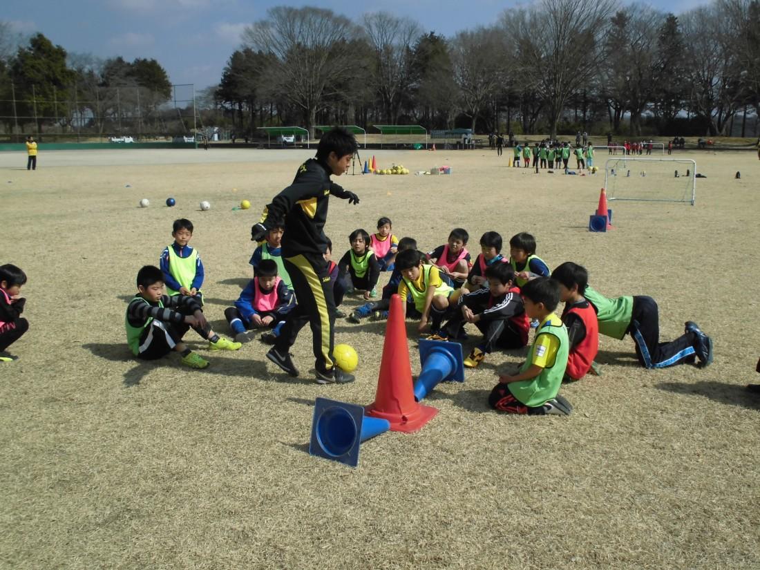 栃木SC ちびっこサッカー教室を開催!
