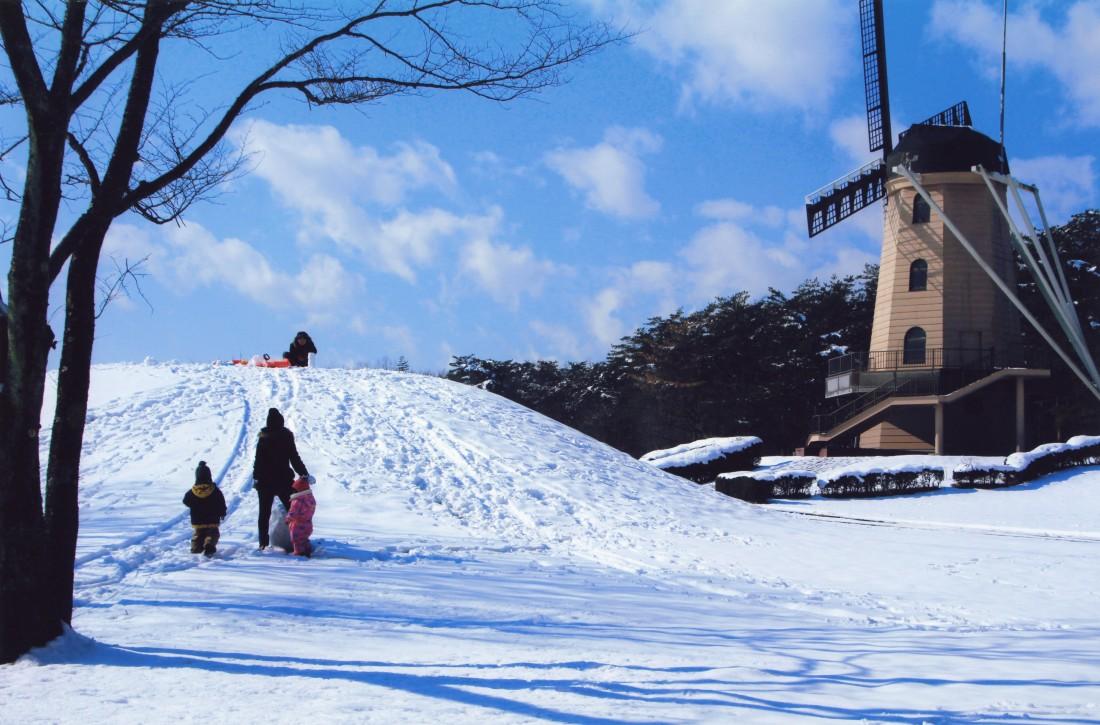 【冬】真冬の風車
