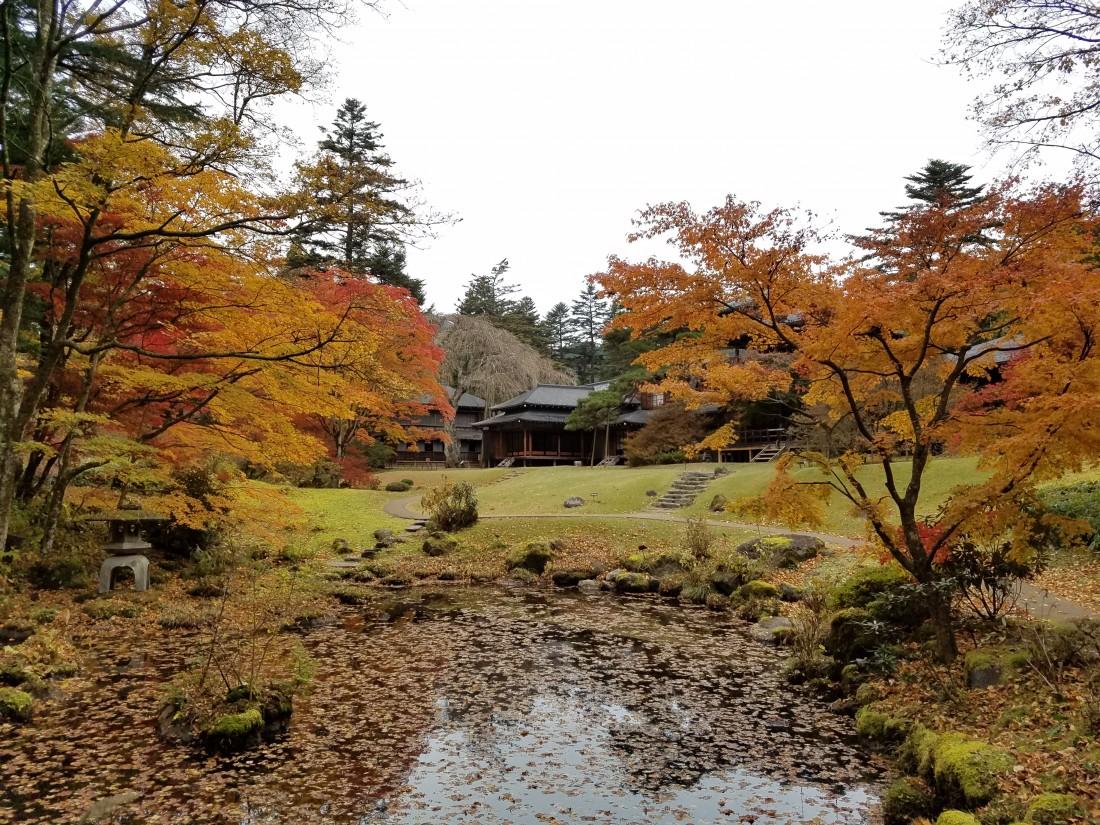 庭園の紅葉 11月