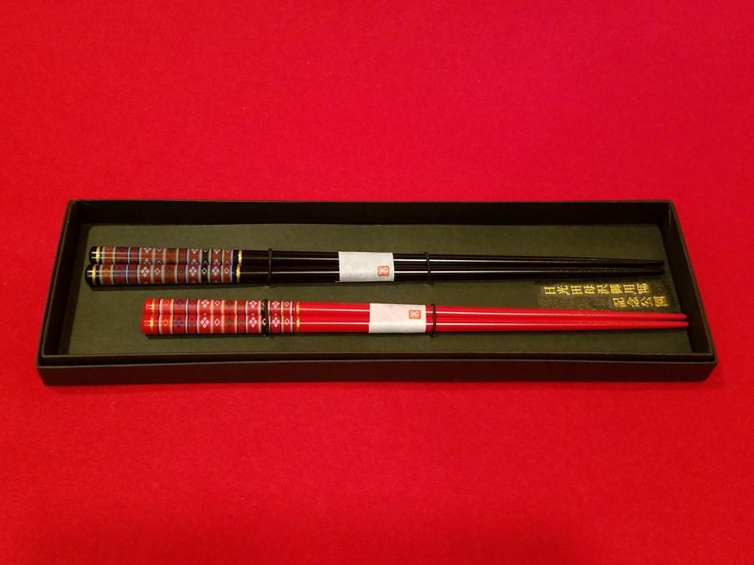 オリジナル 夫婦箸