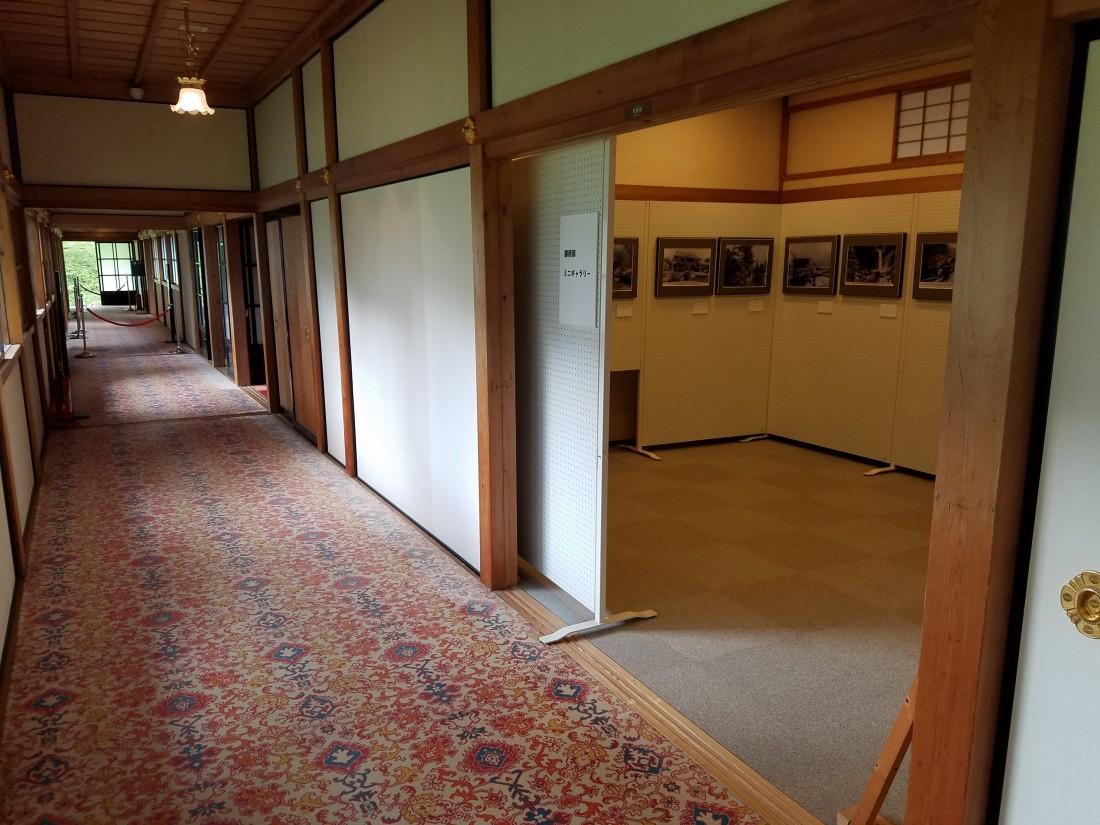 展示室入口(見学順路)