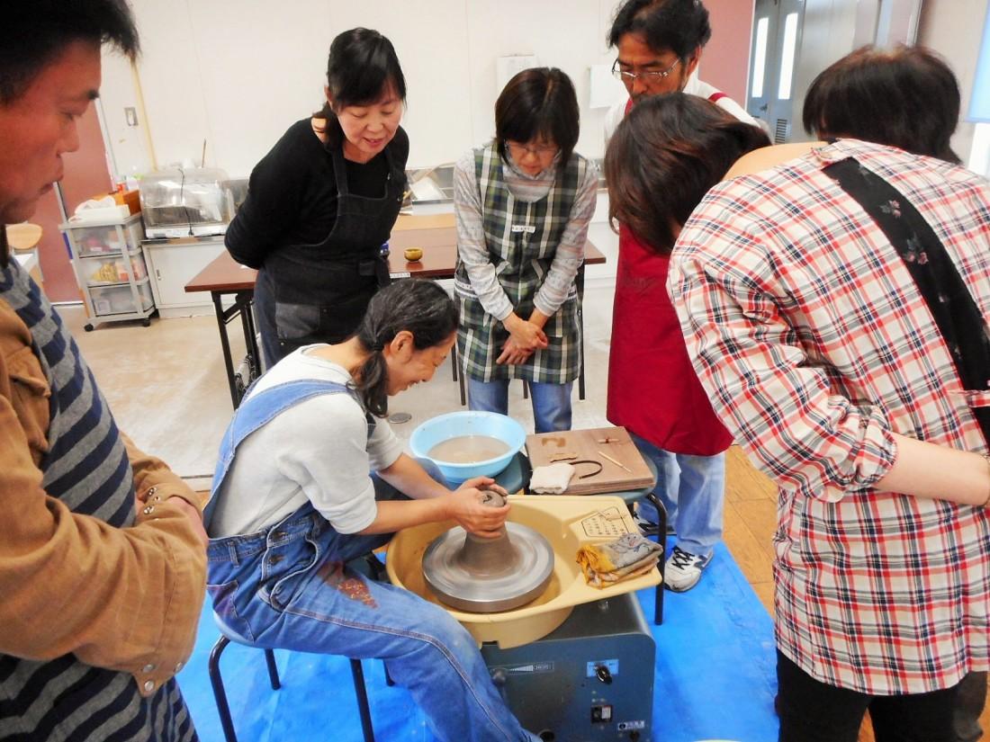大人の陶芸教室【6月】