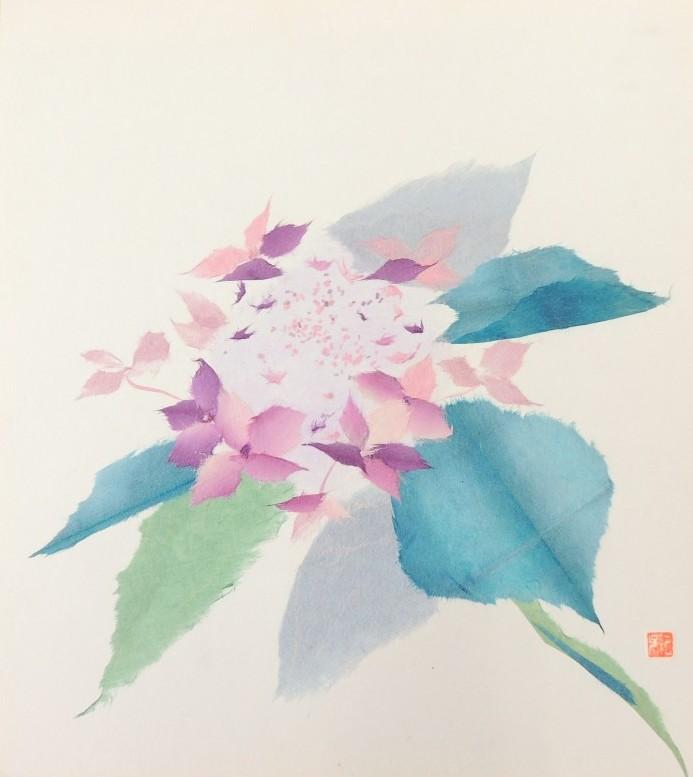和紙ちぎり絵教室【6月】