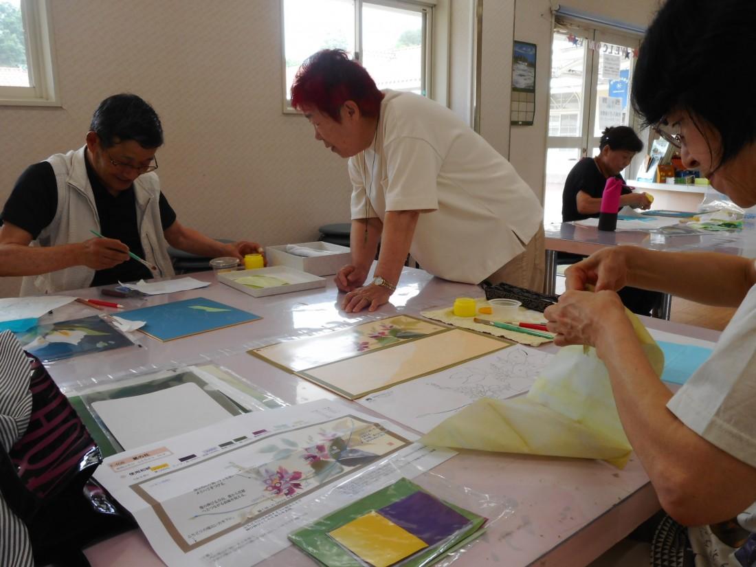 和紙ちぎり絵教室