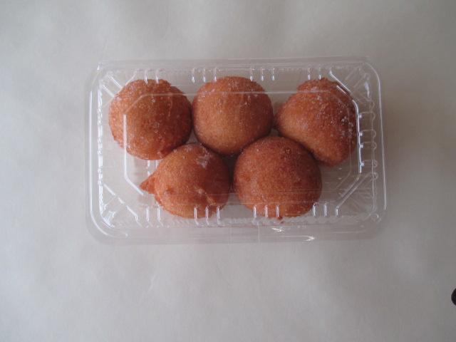 テイクアウト用ドーナツ        180円(5個入り)