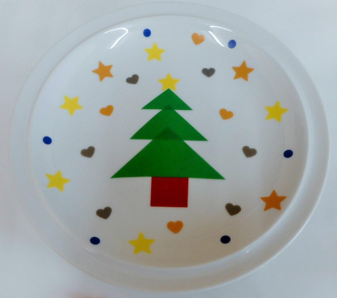 クリスマスを彩るマイカップorプレート作り