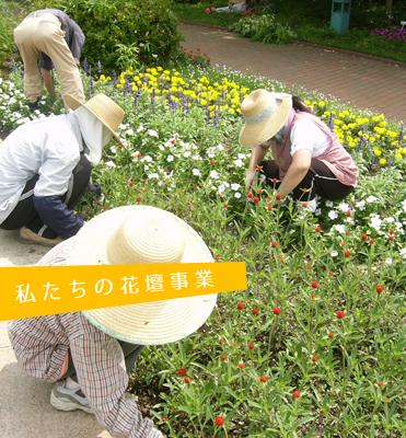 私たちの花壇事業