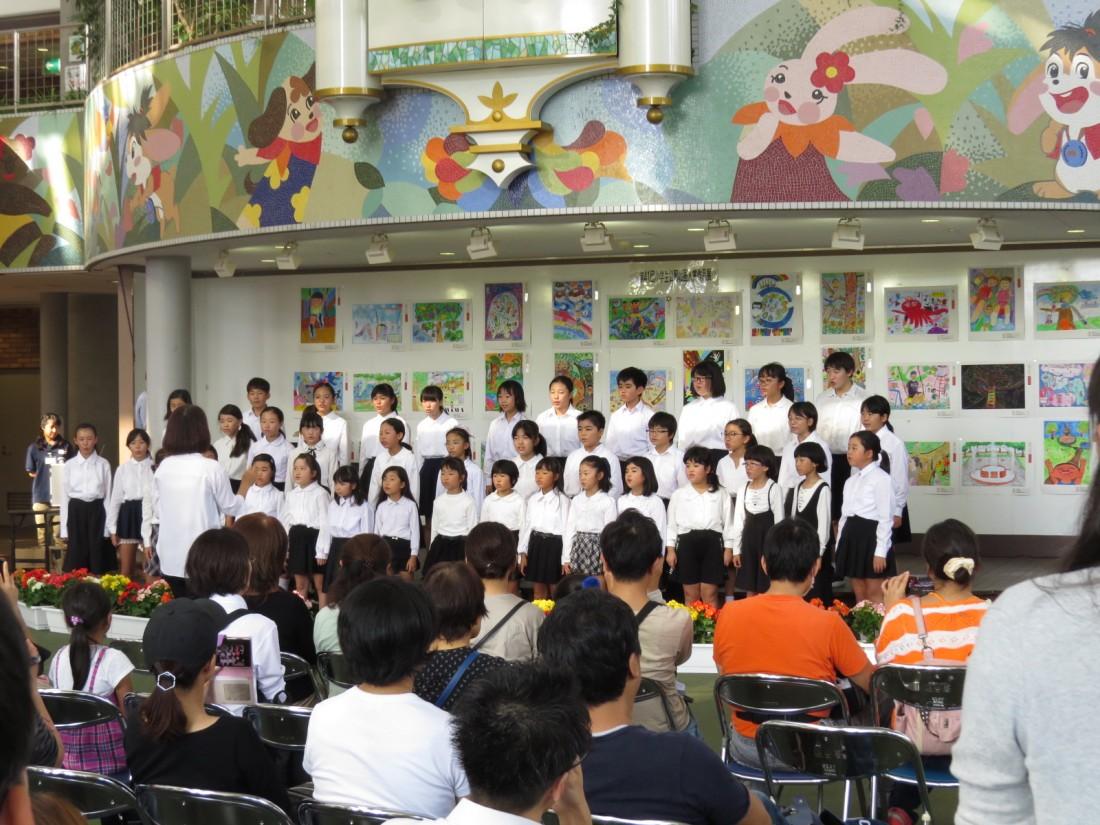 とちぎわんぱく公園「わんぱく歌のステージ~壬生東小合唱部~」