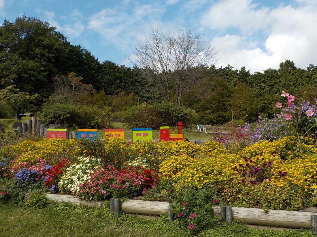 那須野が原公園「修景花壇」